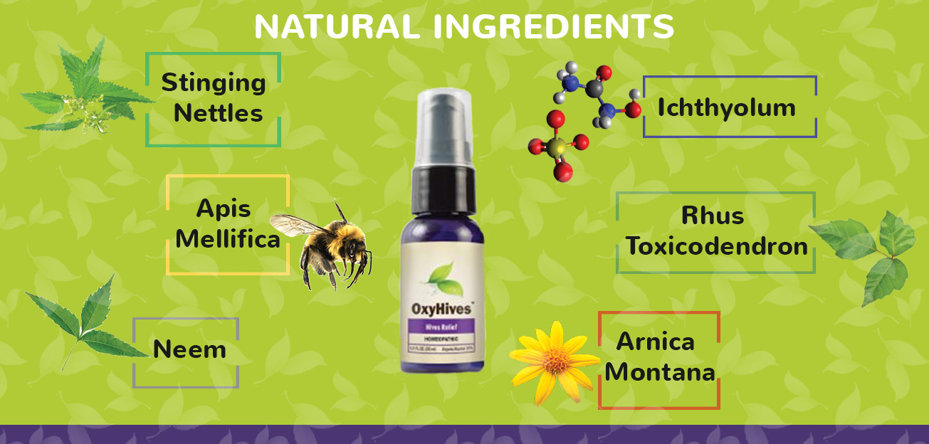 Oxyhives label ingredients